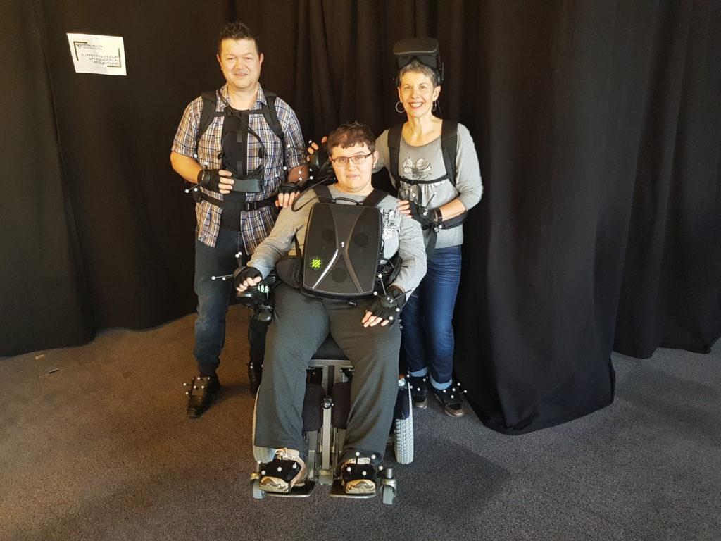 Auch im Rollstuhl ist es möglich den Explorer zu meistern