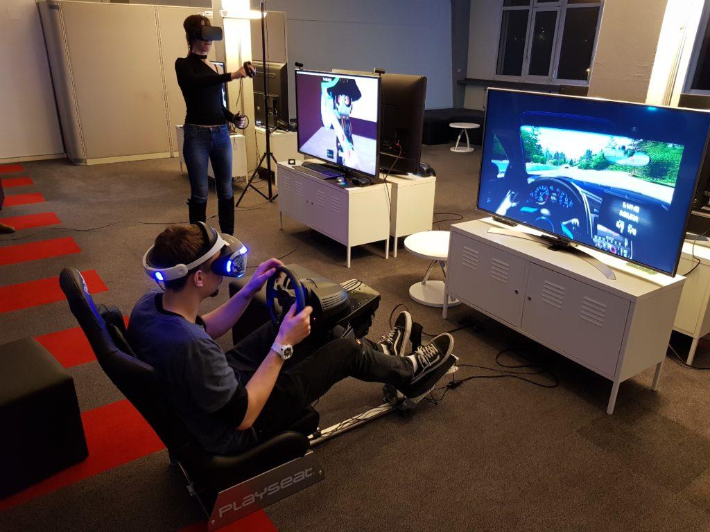 VR-Games an unseren Spielstationen