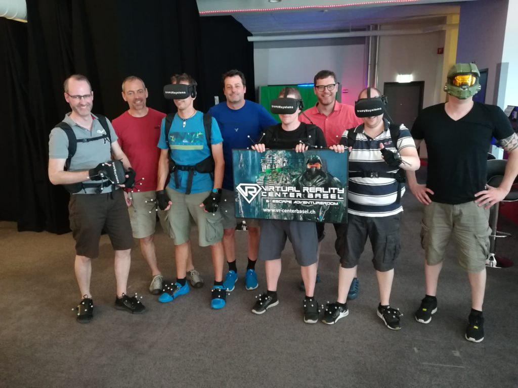 Teamevent im Virtual Reality Center