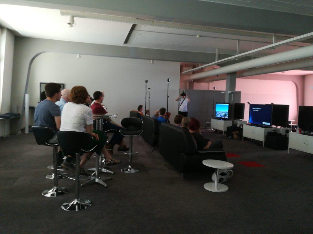 Spieleinführung bei Eventbeginn